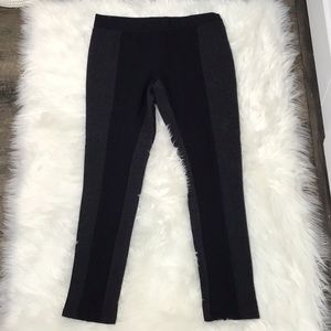 PHILOSOPHY BLACK AND GRAY PANTS